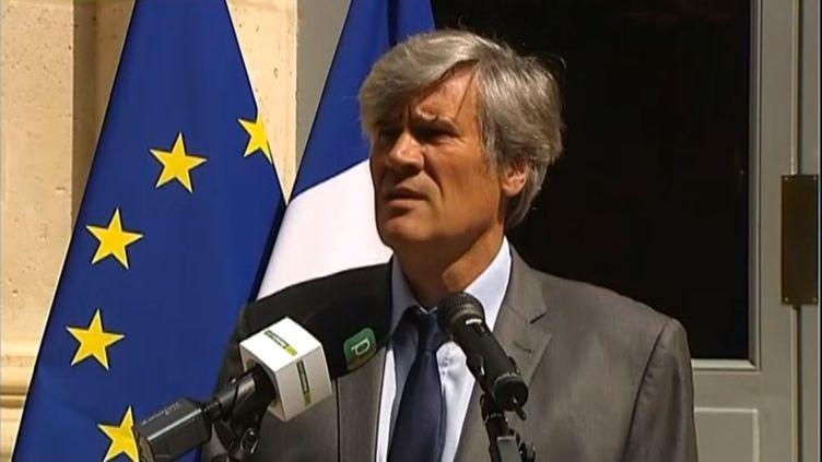 Le ministre de l'Agriculture, Stéphane Le Foll, le 11 août 2015 à Paris.