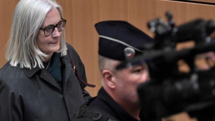 Pénélope Fillon arrive au palais de justice de Paris, le 26 février 2020. (STEPHANE DE SAKUTIN / AFP)