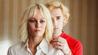 """Vanessa Paradis et Nicolas Maury dans """"Un couteau dans le coeur"""" de Yann Gonzalez  (Memento Films Distribution )"""