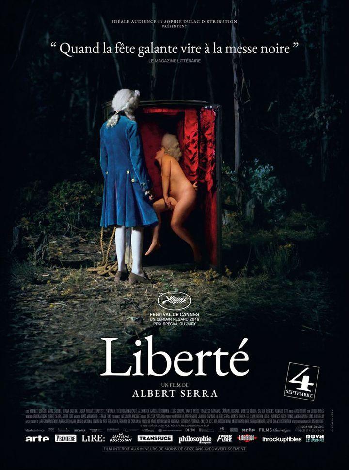 """L'affiche de """"Liberté"""" d'Albert Serra (Sophie Dulac Distribution)"""