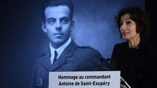 La ministre de la Culture Audrey Azoulay rend Hommage à Saint-Exupery (13/12/2016)  (MARTIN BUREAU / AFP)