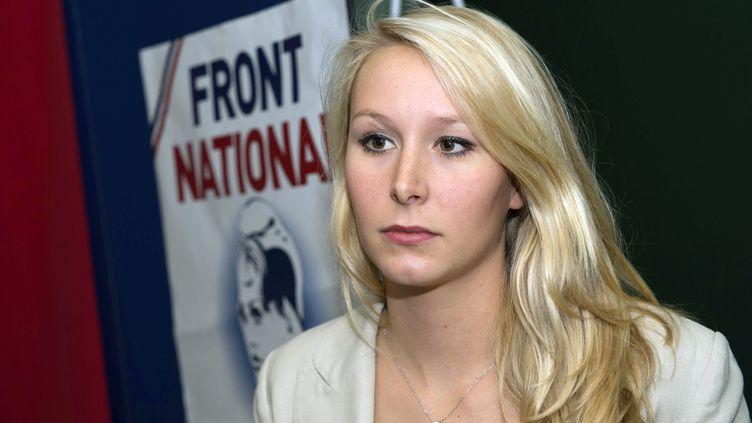 Marion-Maréchal Le Pen, le 18 octobre 2014. (BERTRAND LANGLOIS / AFP)