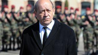 Le ministre de la Défense, Jean-Yves le Drian, le 15 mars 2013 à Montauban (Tarn-et-Garonne). (PASCAL PAVANI / AFP)