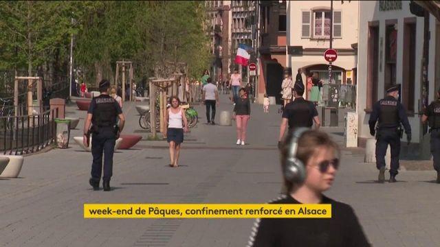 Week-end de Pâques : confinement renforcé en Alsace