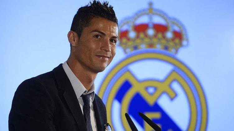 Le joueur portugais Cristiano Ronaldo