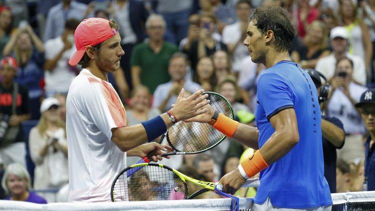 Lucas Pouille a fait tomber Rafael Nadal en 8e de finale de l'US Open