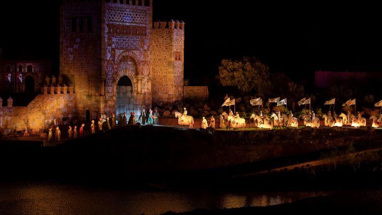 Le premier spectacle du Puy du Fou Espana (ISMAEL HERRERO/EFE/SIPA / EFE)