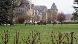 Le manoir de Beaucé, propriété de François Fillon, à Solesmes, près de Sablé-sur-Sarthe, le 10 avril 2013. (JEAN-FRANCOIS MONIER / AFP)