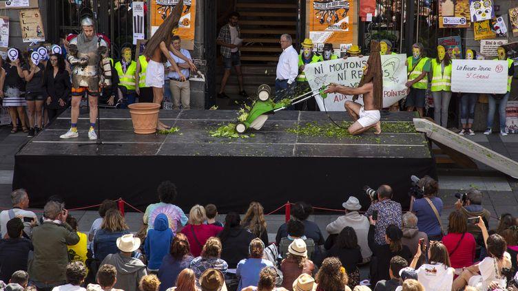 Lancement du 34e festival de théâtre de rue d'Aurillac (Vincent Muteau)