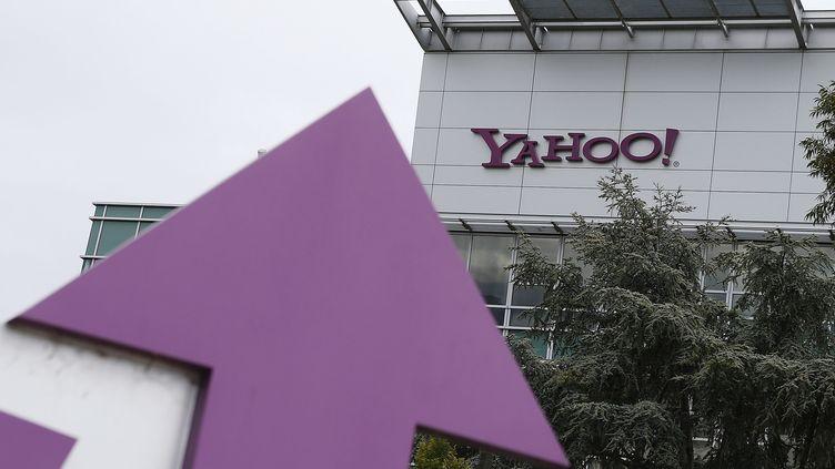 Le siège de Yahoo! àSunnyvale, en Californie (Etats-Unis). (JUSTIN SULLIVAN / GETTY IMAGES NORTH AMERICA / AFP)