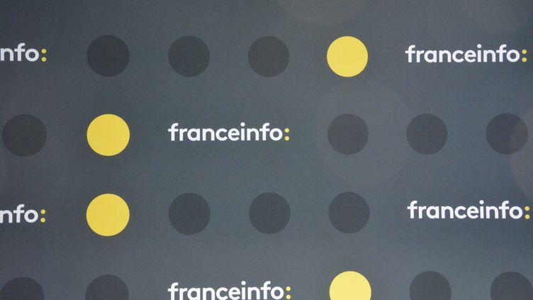 Logo franceinfo. (JEAN-CHRISTOPHE BOURDILLAT / RADIO FRANCE)