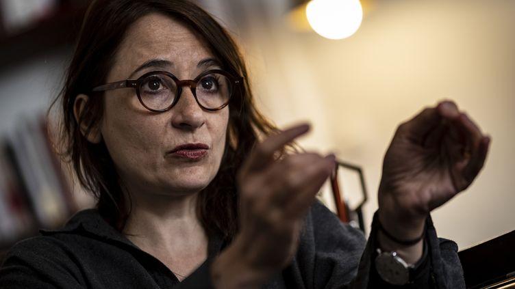 L'avocateMarie Dosé, le 6 mai 2019. (KENZO TRIBOUILLARD / AFP)