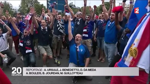 Euro 2016 : les supporters français sont confiants avant France-Albanie