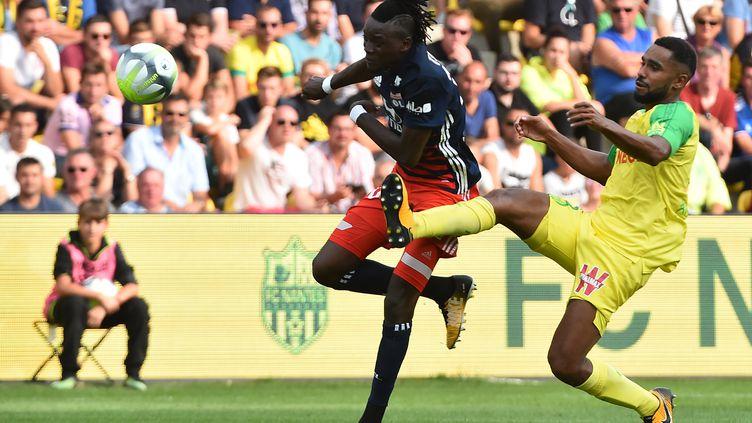 Nantes-Lyon est le premier 0-0 de la saison, après 32 matches.  (JEAN-FRANCOIS MONIER / AFP)