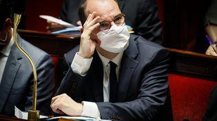 Le Premier ministre Jean Castex, à l'Assemblée nationale, le 6 octobre 2020. (THOMAS PADILLA / MAXPPP)
