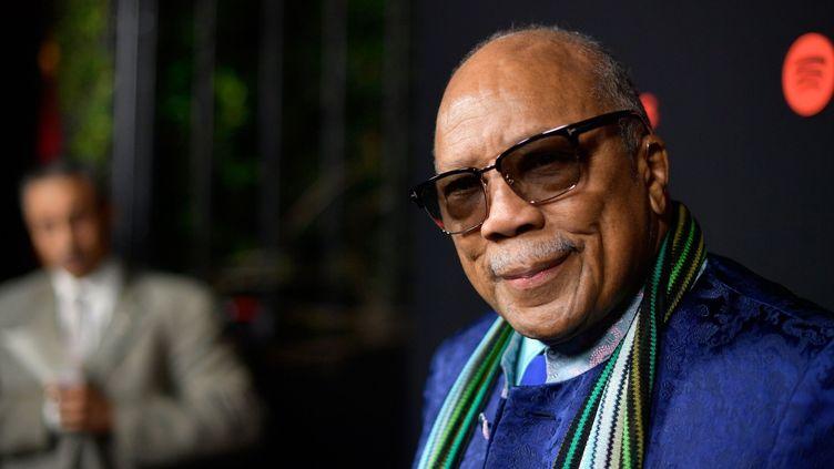 Le musicien et producteur Quincy Jones en novembre 2017.  (Matt Winkelmeyer / Getty / AFP)