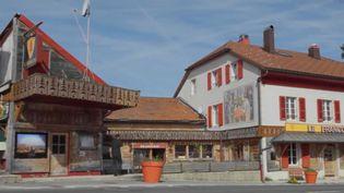 L'hôtel Arbez Franco-Suisse. (FRANCE 2)