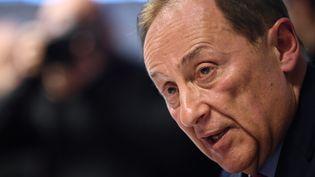 Didier Gailhaguet lors d'une conférence de presse au siège de la fédération des sports de glace le 5 février 2020 à Paris (FRANCK FIFE / AFP)