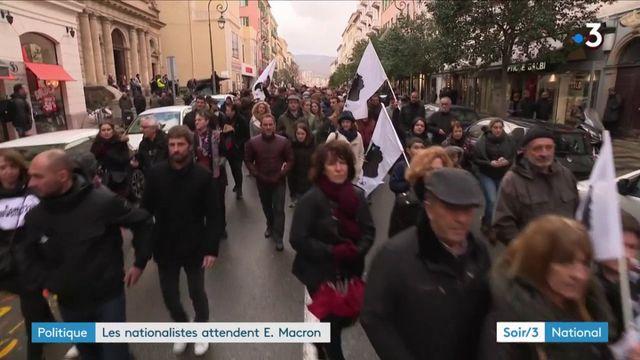 Emmanuel Macron en Corse : une visite très attendue