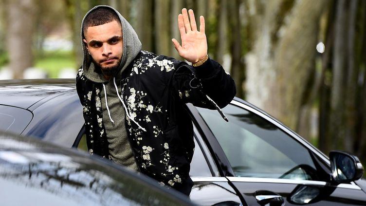 Le défenseur français du Paris Saint-Germain, Layvin Kurzawa. (FRANCK FIFE / AFP)