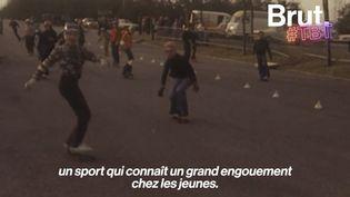 VIDEO. Quand le skate explosait en France, bien avant son entrée aux Jeux olympiques (BRUT)