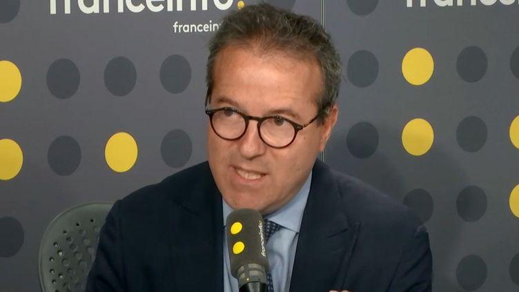 Martin Hirsch,ledirecteur général de l'AP-HP, invité sur franceinfo jeudi 2 mai (photo d'illustration). (FRANCEINFO)