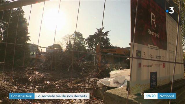 Recyclage : les déchets de chantiers peuvent avoir une seconde vie