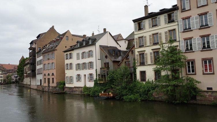 Illustration de la ville de Strasbourg (Bas-Rhin), samedi 26 juin 2021. (MYRIAM TIRLER / HANS LUCAS / AFP)