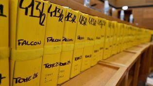 """Le procès de l'affaire """"Air Cocaïne"""" s'est ouvert lundi 18 février devant la cour d'assises spéciale des Bouches-du-Rhône. (GERARD JULIEN / AFP)"""