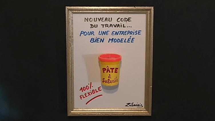 L'actualité revue et corrigée par Zèbréric.  (France 3 / Culturebox)