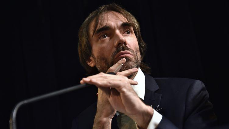 Cédric Villani, à la Sorbonne, à Paris, le 23 novembre 2019. (ANTONIN BURAT / HANS LUCAS / AFP)