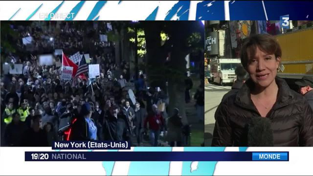 Mouvements anti-Trump : qui manifeste ?