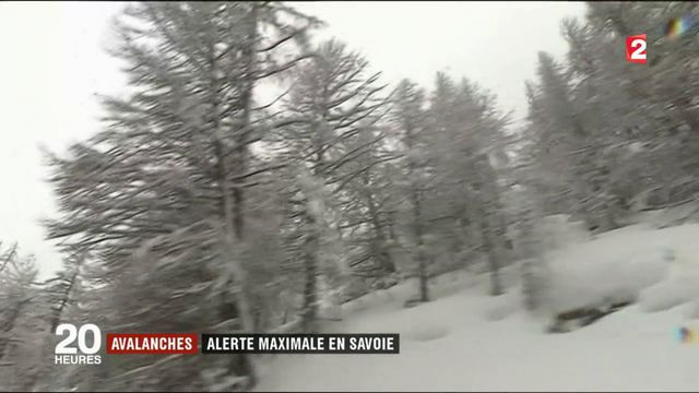 Avalanche : alerte maximale en Savoie