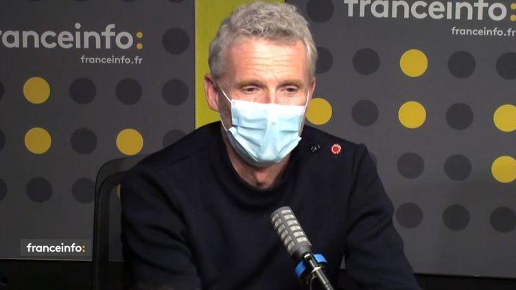 Denis Brogniart, présentateur de Koh-Lanta sur TF1. (CAPTURE D'ECRAN DAILYMOTION)