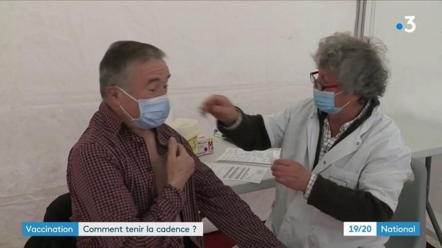 Covid-19 : comment tenir le rythme des vaccinations en France ?