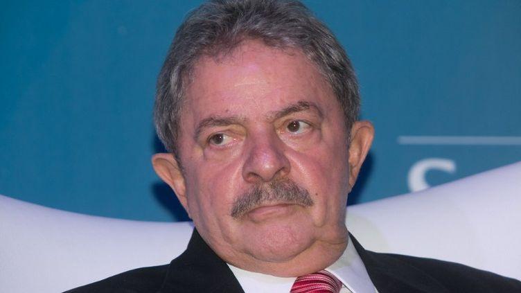L'ancien président brésilien Lula da Silva, le 26 mars 2013 à Sao Paulo, au Brésil. (ADRIANA SPACA / AFP)