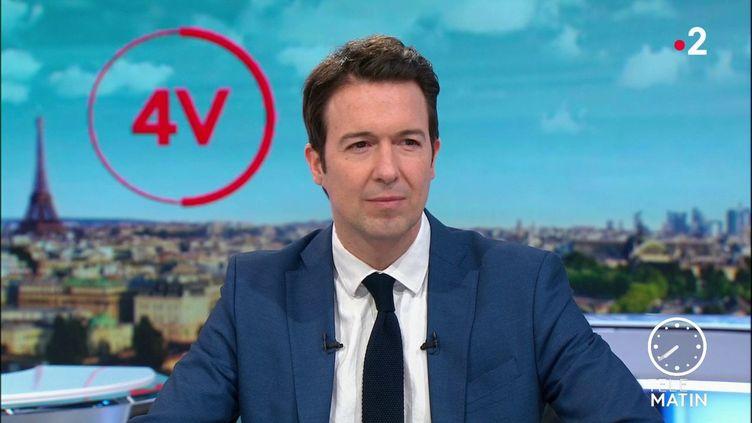 Le vice-président de LR et député du Loir-et-Cher, Guillaume Peltier. (FRANCE 2)