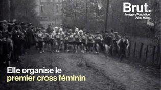 VIDEO. Jeux olympiques : on vous raconte l'histoire d'Alice Milliat, grande oubliée de l'histoire du sport (BRUT)