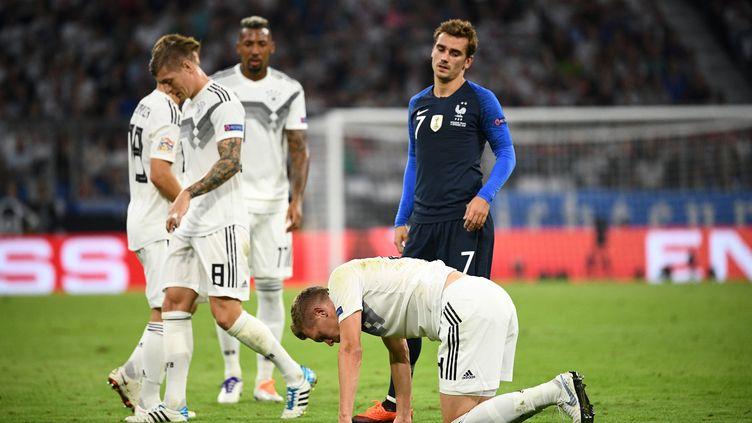 L'équipe de France domine le groupe 1, devant les Pays-Bas et l'Allemagne (FRANCK FIFE / AFP)