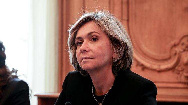 La présidente de la région Ile-de-France, Valérie Pécresse, le 20 février 2017 à Paris. (SADAK SOUICI / CITIZENSIDE / AFP)