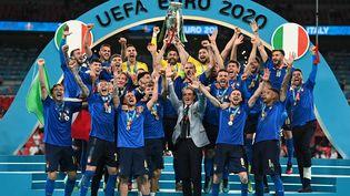 L'Italie, championne d'Europe 2021 ! (MICHAEL REGAN / POOL)