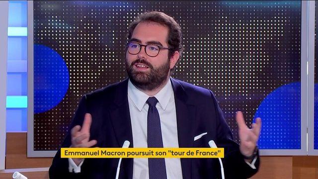 """""""Tour de France"""" d'Emmanuel Macron : un président en campagne ?"""