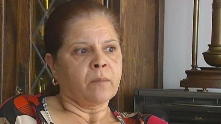 Malika Ameur, mère d'un membre de Forsane Alizza. (CAPTURE D'ÉCRAN / FTVI)