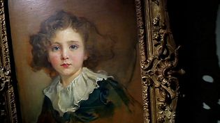 Un des portraits d'enfants de la collection Gramont  (France 3 / Culturebox)