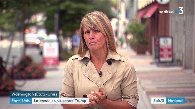 Etats-Unis : la presse déclare la guerre à Donald Trump
