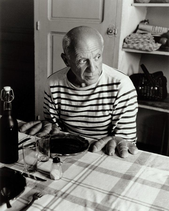 Les pains de Picasso, Vallauris, 1952 (Atelier Robert Doisneau)