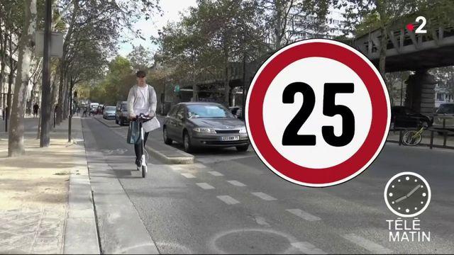 Sécurité routière : les trottinettes bientôt interdites de trottoirs