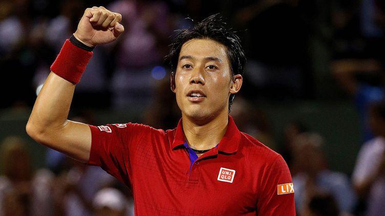 Le joueur japonais Kei Nishikori