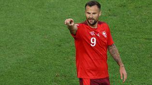 Seferovic a ouvert le score face à la Turquie. (NAOMI BAKER / POOL)