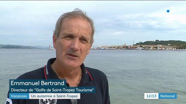 Vacances : même l'automne, les touristes affluent à Saint-Tropez